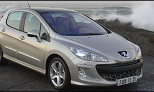 image: Peugeot 308 vises som dieselhybrid
