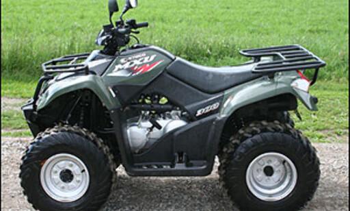 Kymco MXU 300, 19 hk, høy/lav/revers, 54.900 kroner.
