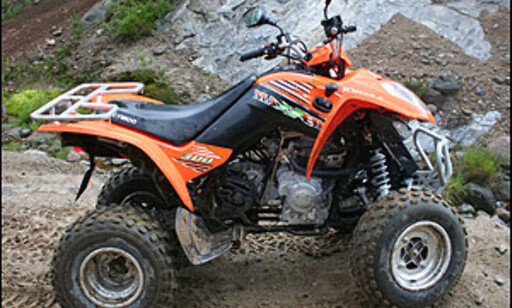 Kymco Maxxer 300, 19 hk, høy/revers, 54.900 kroner.