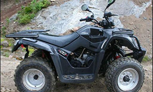 Kymco MXU 50, 4,5 hk, høy/revers, 21.900 kroner.