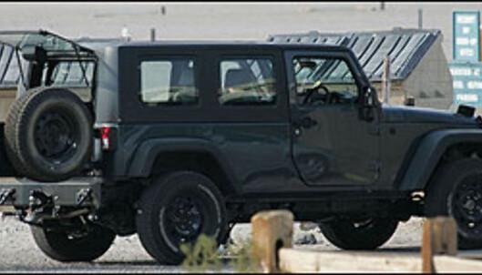 Pickup fra Jeep