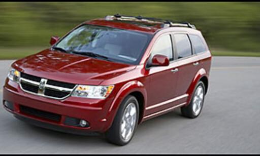 image: Dodge-syvseter med diesel og automat