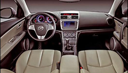 Store lekkasje-bilder av nye Mazda 6