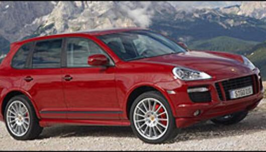 Sportsligere Cayenne fra Porsche