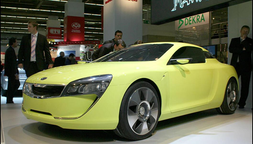 <strong>Kia Kee:</strong> Sportsbilkonsept. Det kommer nok en produksjonsversjon.