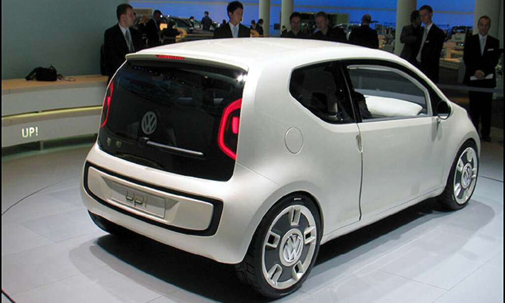 VW Up! Billig-konsept med hekkmotor...