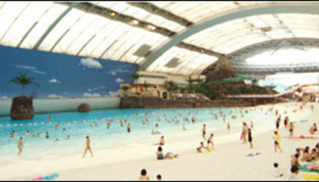 Ocean Dome, Japan. Foto: Ocean Dome