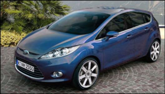 Ny Ford Fiesta på vei
