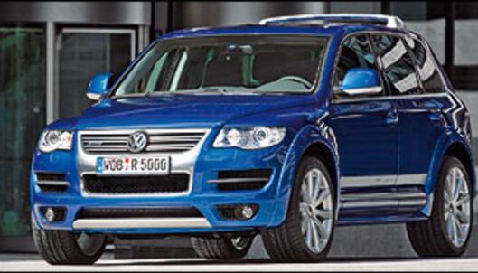 Volkswagen med monstrøs diesel-SUV
