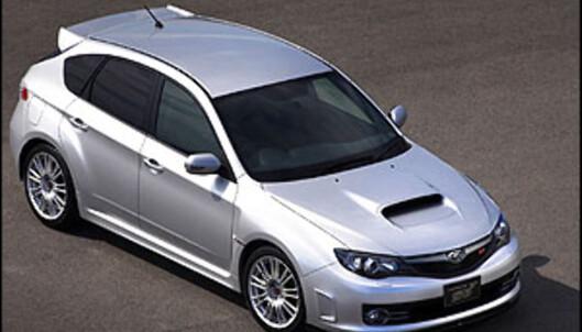 Her er nye Subaru Impreza WRX STi