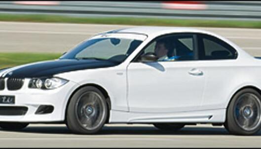 Barskt 1-serie-konsept fra BMW