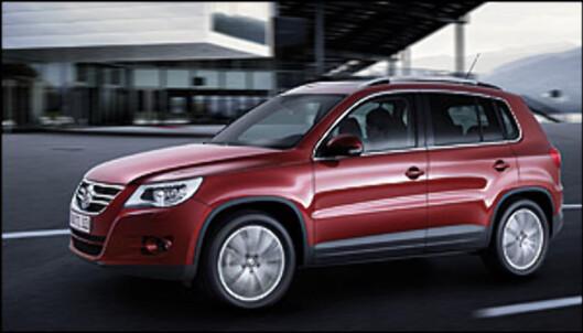 Volkswagen Tiguan er blant de viktigste nyhetene på Bil 07