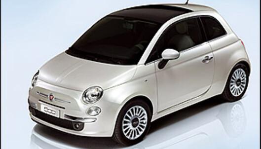 Fiat 500 vinner suverent