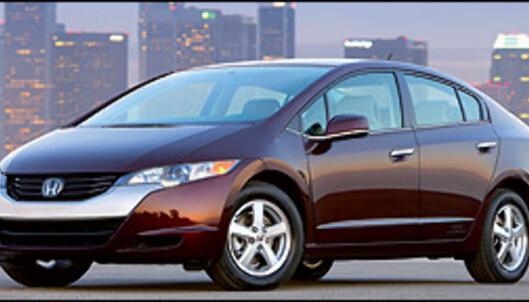 Honda et skritt videre i miljøkampen