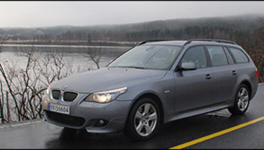 TEST: BMW 5-serie på alle fire