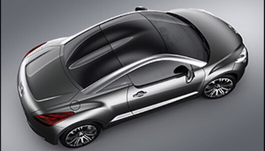 Ny kupé fra Peugeot?
