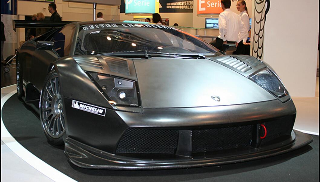 Michelin viser racingutgave av Lamborghini LP 640