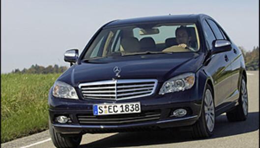 Mercedes C-klasse med firehjulsdrift