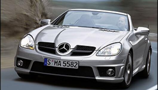 Oppdatert roadster-kule fra Mercedes