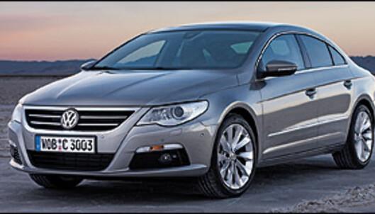 """Volkswagen Passat blir """"kupé"""""""