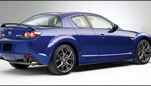 Mazda RX-8 enda mer sportslig
