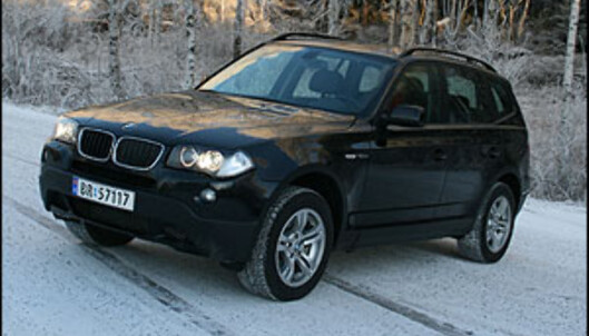 TEST: BMW X3 2.0da