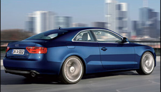 Audi A5 blir billigere