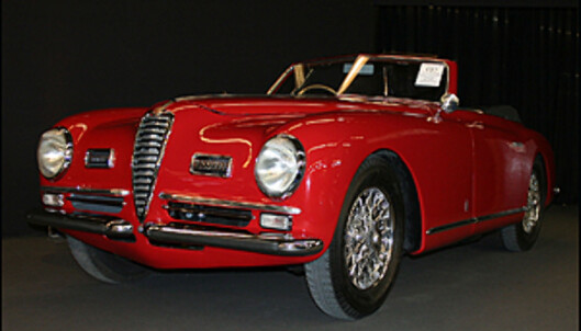 1948 Alfa Romeo 6C 2500 Super Sport