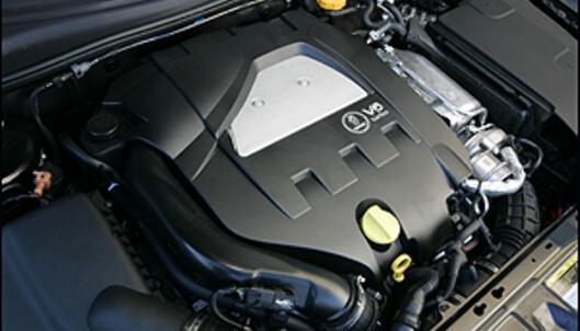 2.8 V6 turbo. 280 hk, 400 Nm.