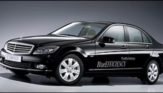 Miljøoptimert Mercedes C-klasse