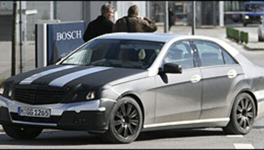 Mercedes E-klasse hybrid