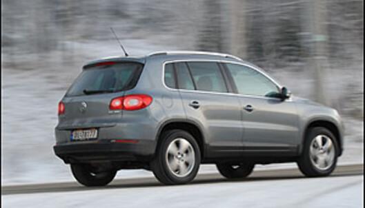 VW Tiguan med mer krutt