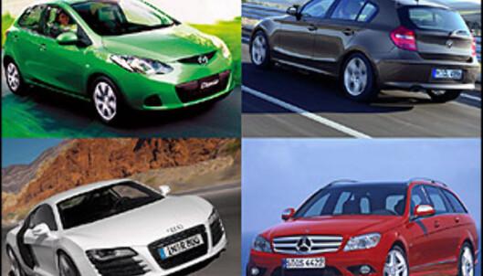 Verdens beste, kuleste, råeste og reneste biler kåret