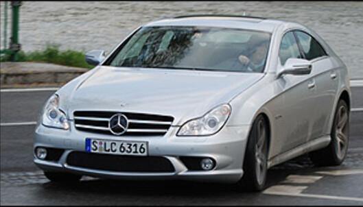 Voldsomme Mercedes CLS 63 AMG prøvekjørt