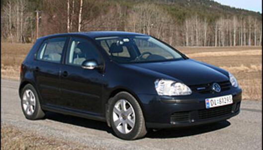VW Golf Bluemotion.