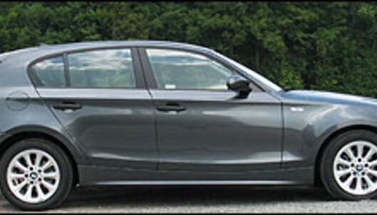 BMW 118d.