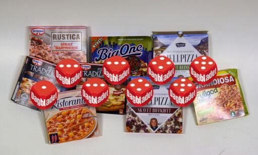 image: Smakstest avde nye frossenpizzaene