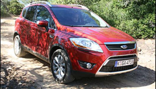 PRØVEKJØRT: Folke-SUVen Ford Kuga