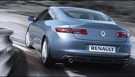 Snobbete Renault Laguna kupé