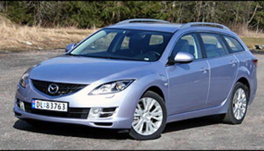TEST: Nye Mazda 6 - en skuffelse