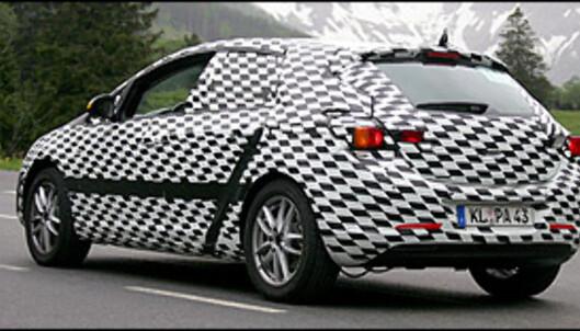 Ny Opel Astra forberedes