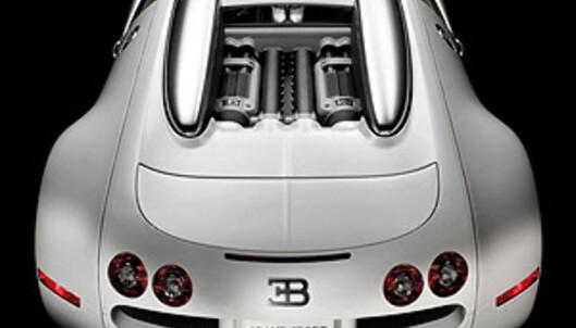 Bugatti Veyron slipper taket