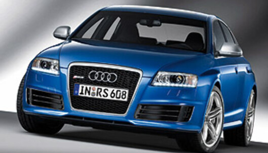 Ny variant av Audi RS6