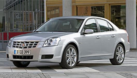 <strong>BRONSE:</strong> Cadillac, her representert ved modellen BLS, erobrer tredjeplassen med bare 1,55 feil per bil.