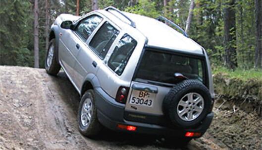<strong>JUMBO:</strong> Land Rover, som nylig ble solgt fra Ford til indiske Tata, gjør det elendig også i denne kvalitetsundersøkelsen. Her en Freelander.