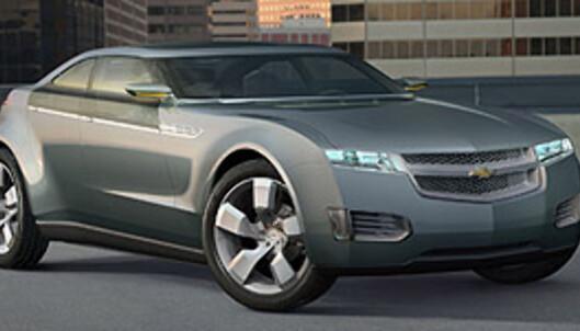 Konseptutgaven av Volt Foto: Chevrolet