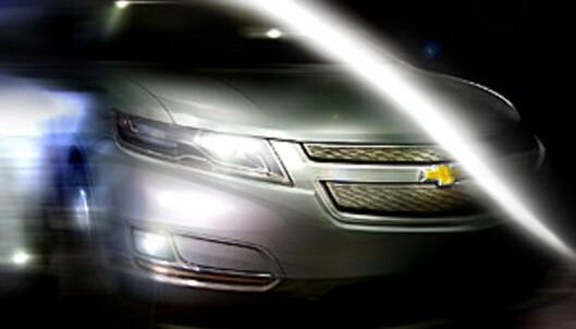 Smugtitt på produksjonsvarianten av Volt Foto: Chevrolet