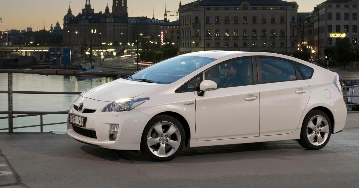 Lansering Nye Prius Innertier Fra Toyota DinSide
