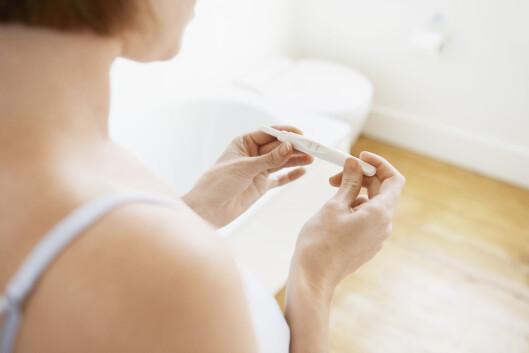 Ikke alle symptomer er like åpenbare for alle. Har du tenkt over at tett nese eller blod fra tannkjøttet kan være tegn på at du er gravid?  Foto: NTB/Scanpix
