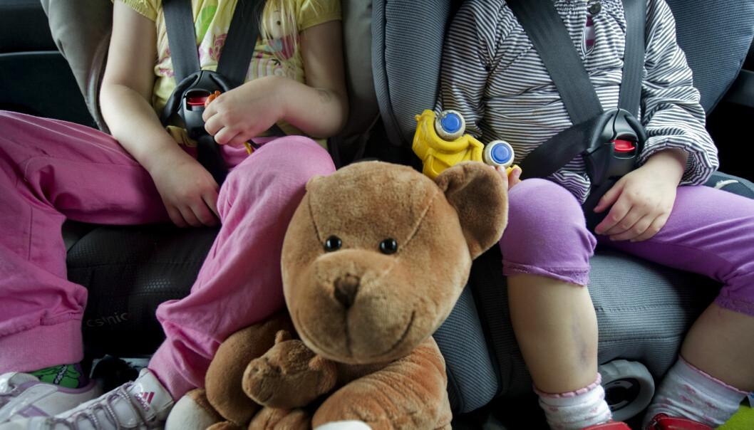 IKKE FORSTYRR: Ikke la deg forstyrre av barn som krangler i baksetet. Ta heller gode og lange pauser. Foto: Dagbladet